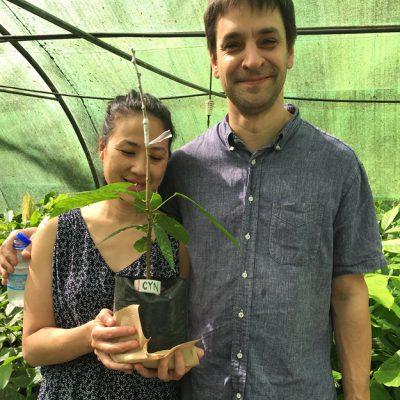 Portrait of Cynthia and David of SOMA Chocolatemaker